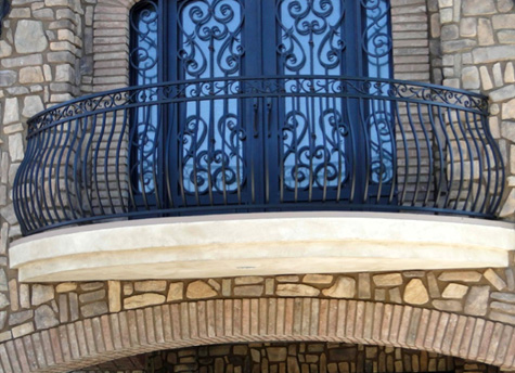 Custom Wrought Iron Projects - Amber Ornamental Iron