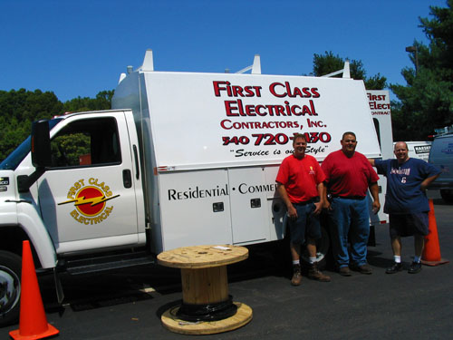 First Class Electrical Contractors Inc Fredericksburg