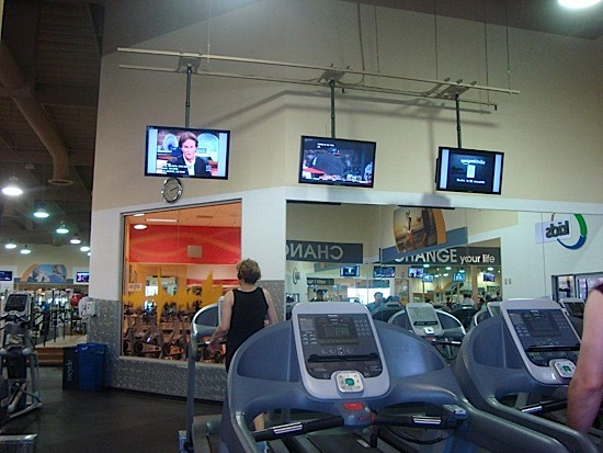 Cardio LCD on Structure - ProAVcomm Inc.
