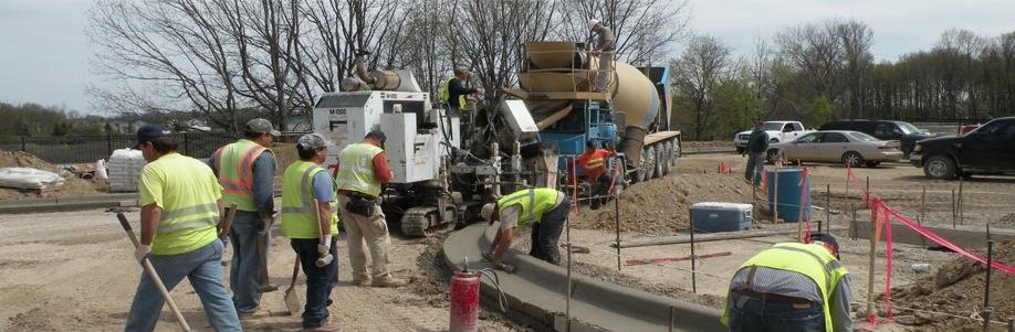 Concrete Road Curb