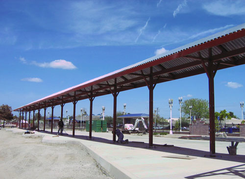 Hanford Train Station