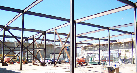 Structural Steel Fabrication & Construction - Kraus Fabrication