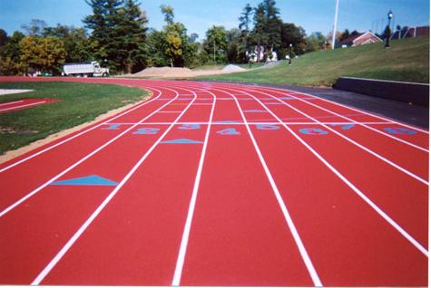 Elizabethtown College IAAF Regupol Outdoor Running Track - Abacus Sports Installations Ltd.