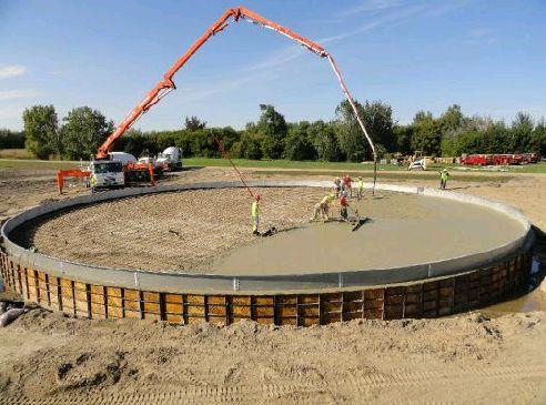 Commercial Concrete Project - Buesser Concrete, Inc.