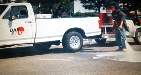 Pressure Washing / Street Cleaning  - Day & Night Power Sweeping