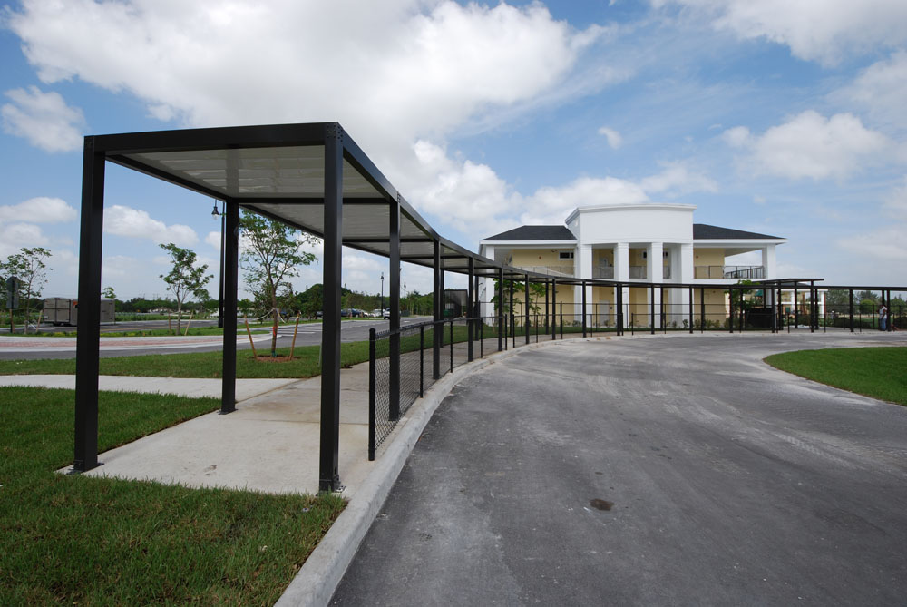 Covered Walkway Construction : Coastal metal products covered walkways image proview
