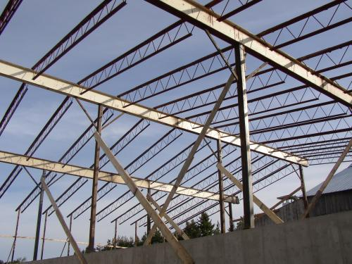 B k video image gallery proview for Open web trusses