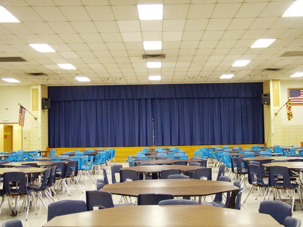 Cafetorium Room Stage