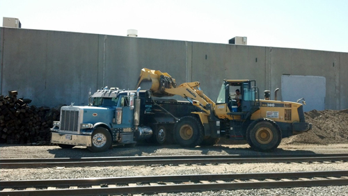 Working at Rail Road in Maywood, CA - Omar & Son's Trucking, Inc.