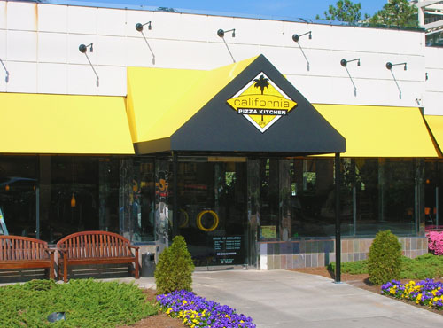 Entrance Canopy with Graphics - Tennessee Awnings