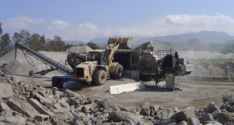 Sand & Gravel - AMH Recycling