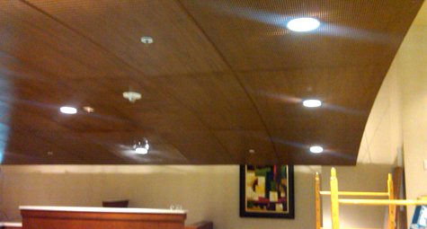 CP Ceiling - Accurate Acoustics, Inc.