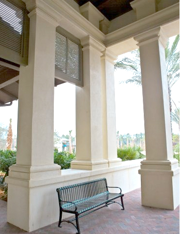 Architectural precast foam west palm beach florida for Exterior decorative columns