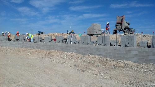 Split Face and Slump Block Walls - Superior Masonry Inc.