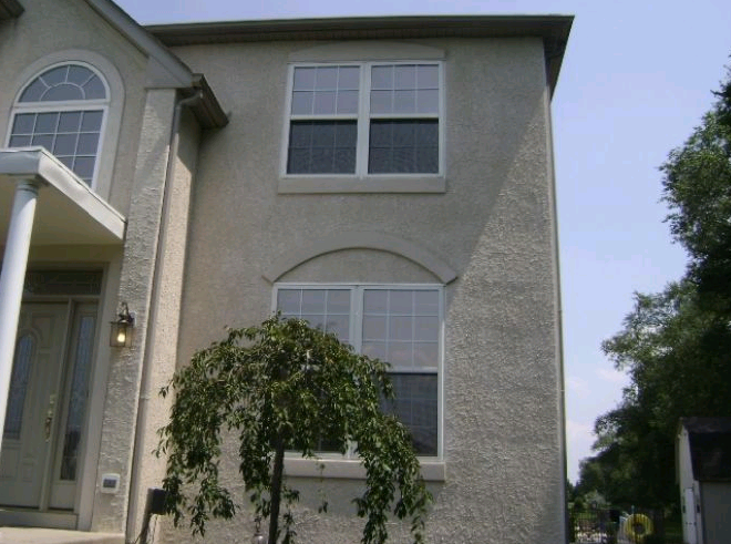 Image gallery stucco masonry for Concrete block stucco