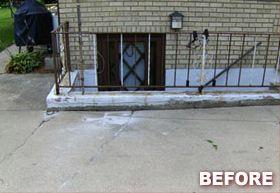 Concrete Project (Before) - CRC Concrete Raising & Repair
