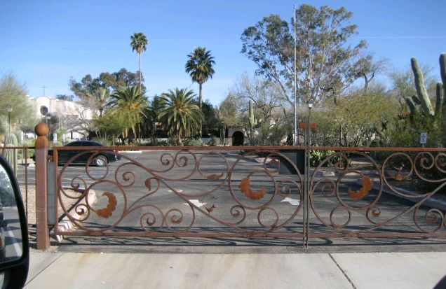 Rojo Double Gates - Rojo Iron Works LLC