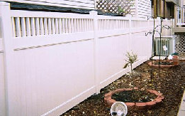 We offer several types of privacy and picket style vinyl fences.  - American Fence Professionals, Inc.