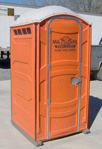 Standard Portable Restroom Unit - Mr. Cesspool