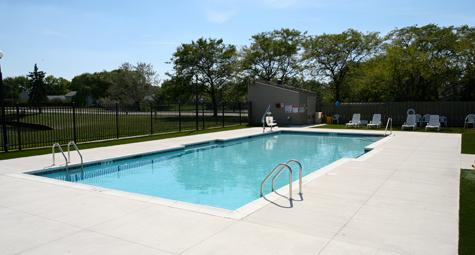 Condo Pool  - Sunset Pools & Spas