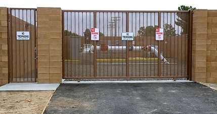 Design build gates to accommodate your specific security requirements - C & W Construction Specialties, Inc.