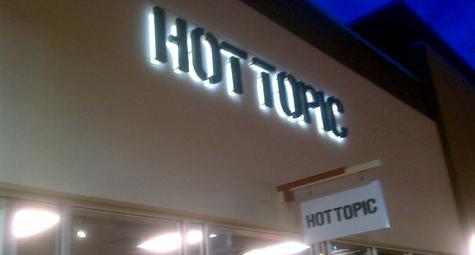 Hot Topic Sign - Westgate Enterprises, LLC