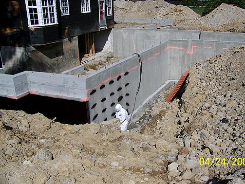 Residential Waterproofing - New England Waterproofing, Inc.