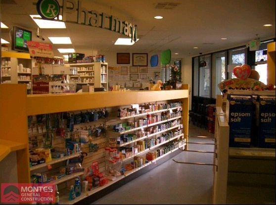 Better Value Pharmacy Interior - Montes Fireproofing
