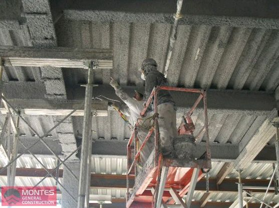 Fireproofing Project - Montes Fireproofing