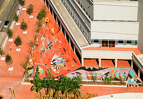 Pharohs Dance - Performing Arts Center, Miami - Artistic Surfaces