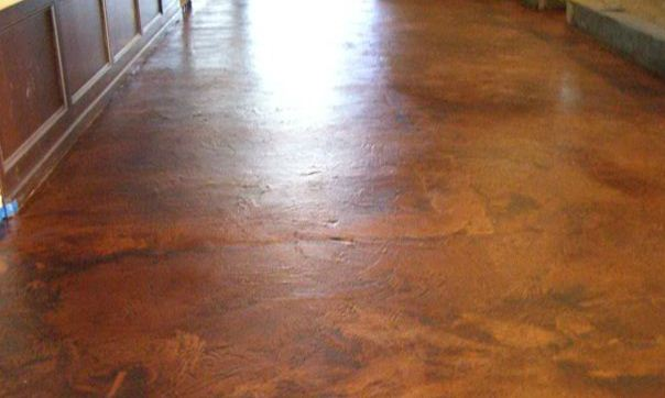 Microtop with Stain : Crazy Horse Restaurant - Performance Floors