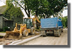 Welcome to Len Cox and Sons Excavating