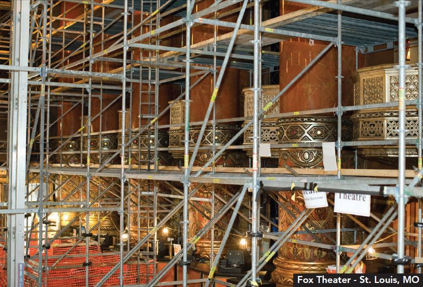 Fox Theater - Platinum Scaffolding Service Inc.