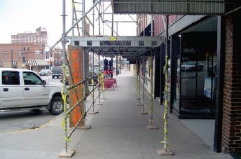 Typical Scaffolding System - Platinum Scaffolding Service Inc.
