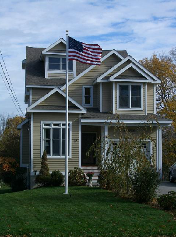 Flagpole Installation  - All American Signs...Plus