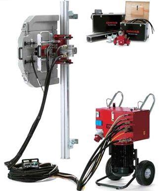 Wall Saw - Dimas WS 355/PP 355 E - Litgen Concrete Cutting & Coring Companies