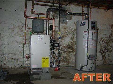 Boiler & Water Heater Installation - After