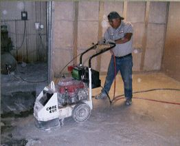 Concrete Grinding  - DeAndrea Coring and Sawing, Inc.