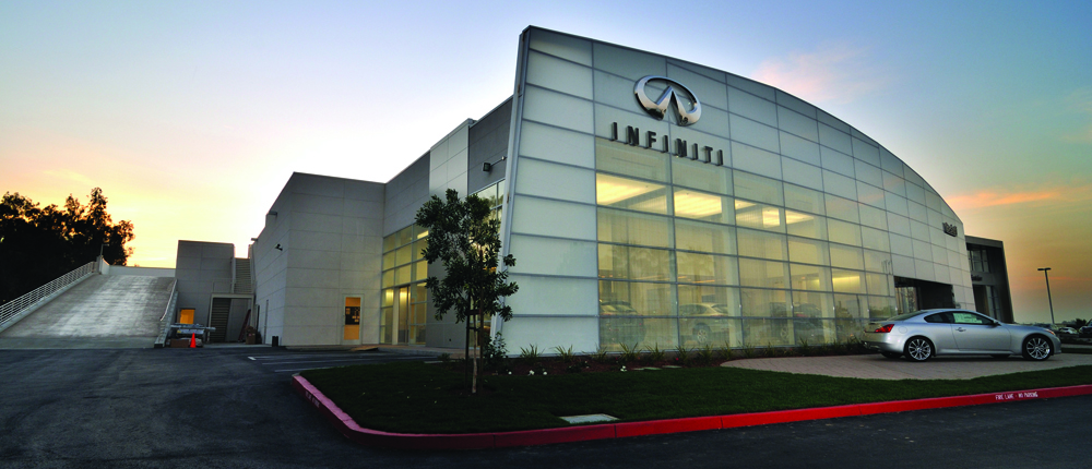 Infiniti Dealership, San Jose California - Ranger Construction, Inc.