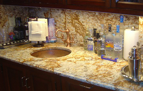 Bar Countertop  - Renaissance Marble Works