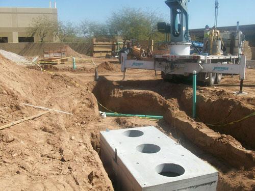 Excavation for Underground Utilities  - McCain Construction, LLC