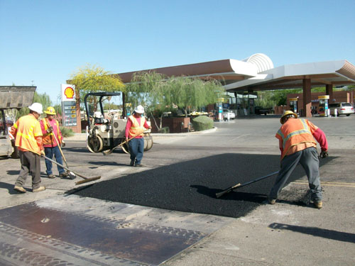 Asphalt Pavement Applied - McCain Construction, LLC
