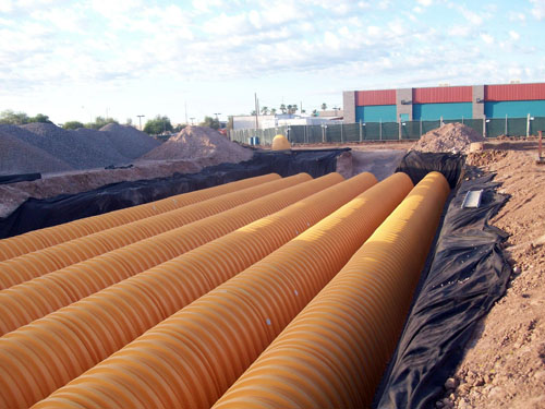 Underground pipeline installation  - McCain Construction, LLC
