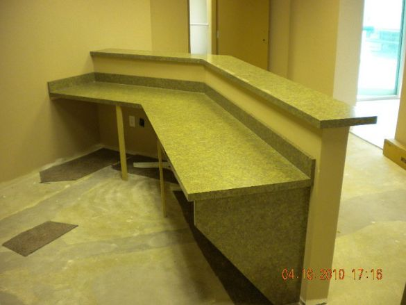 Office Countertop Materials : Commercial Countertops - American Countertops Inc.