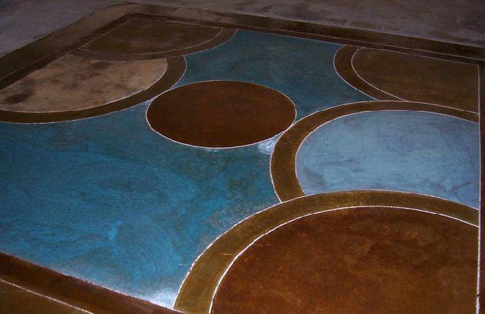 Color & Acid Staining Concrete  - Wolf Concrete Construction