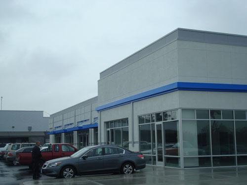 Auto Dealership - Advanced Lath & Plaster, Co.
