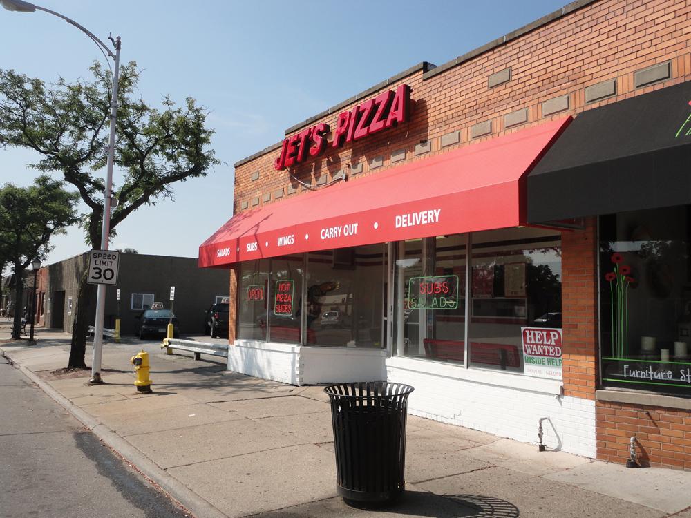 Berkley, Jet's Pizza - Belle Isle Awning Co.