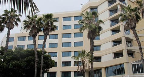 The Double Tree Inn by The Hilton Hotel, Santa Monica CA - Amrani Construction, Inc.