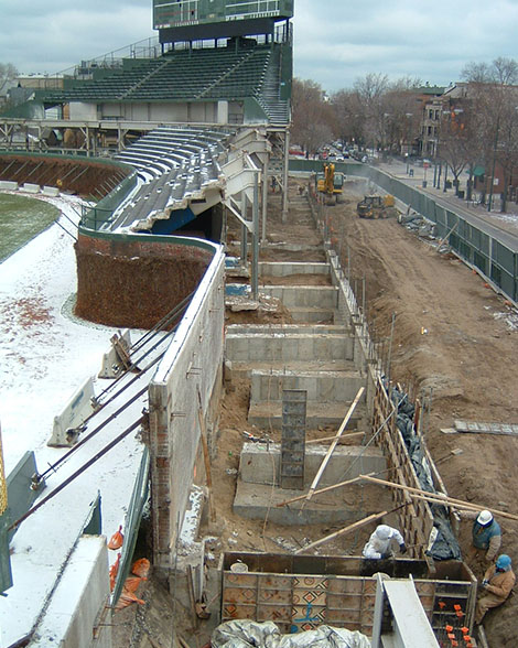 Wrigley Field Bleacher Addition - Parkway Forming, Inc.