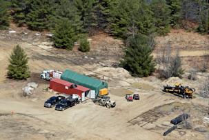 Franklin Falls Job Site  - Henniker Directional Drilling LLC